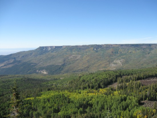 West_edge_of_Grand_Mesa,_Colorado
