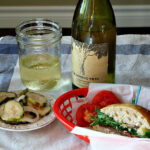 Sideways Movie Picnic Sandwich. With Prosciutto Arugula and Parmesan. Great picnic sandwich recipe.