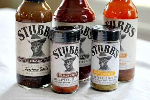 Stubbs BBQ products