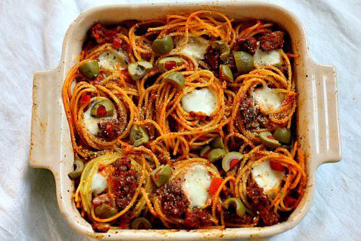 A different way to prepare spaghetti