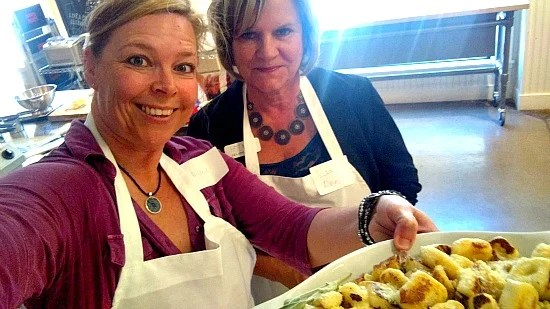 Cooking class for gnocchi