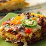 Easy Mexican Casserole with Ground Beef