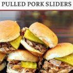 BBQ pork slider recipe with pickles