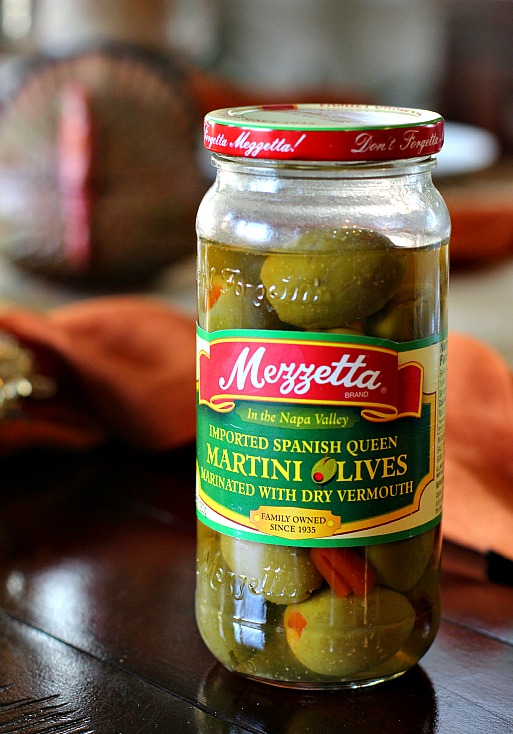 Mezzetta Martini Olives used in a recipe