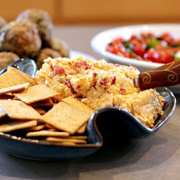 Best Cheese Dip Ever. Easy cheese spread appetizer recipe.