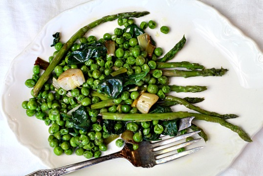 Green Vegetable Medley Recipe