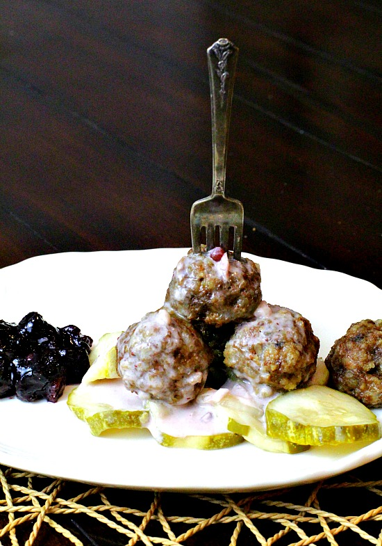 Marcus Samuellson's Swedis Meatballs. Authentic Swedish Meatball recipe