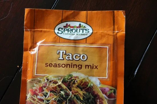 Sprouts Taco Seasoning Mix