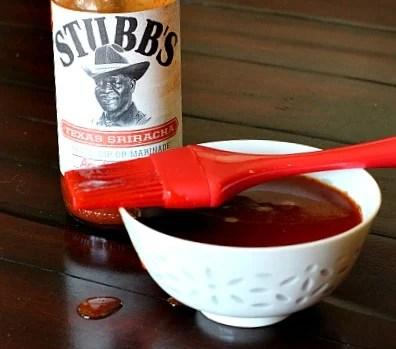 Stubbs Texas Sriracha sauce makes a great glaze for street style tacos.