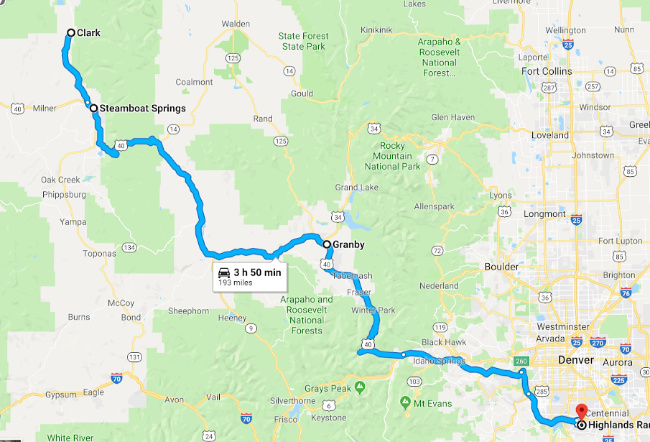 Steamboat Springs Vacation