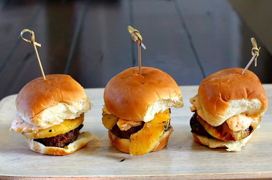 Smoky Chipotle Sliders, perfect BBQ side for Broccoli salad with raisins.