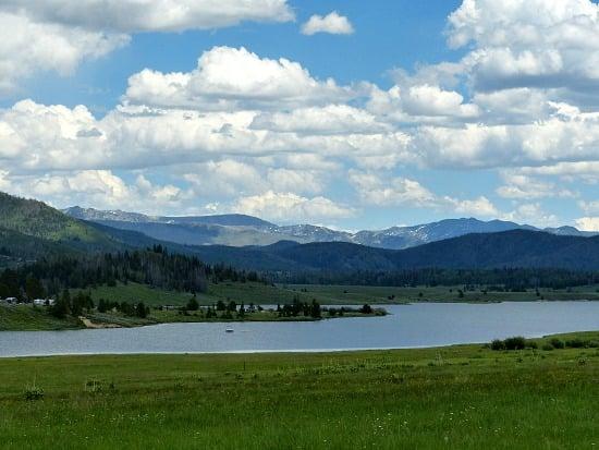 Steamboat Lake Colorado.