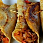 FRIED GROUND BEEF TACOS
