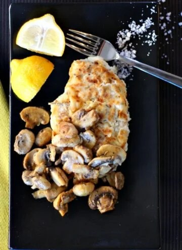 Easy, Delicious, chicken breast dinner recipe. With lemons, mushrooms and spices this is divine.