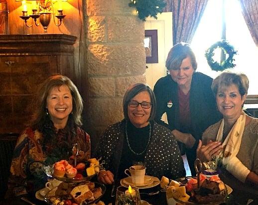 Firenze Ladies having high tea at Cherokee Castle