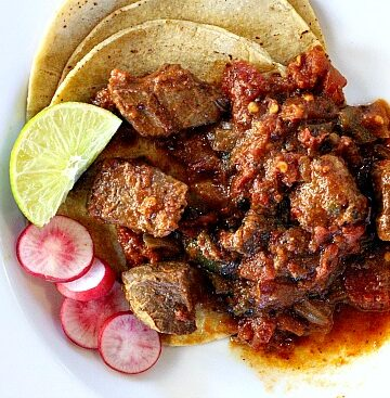 Mexican Pot Roast Recipe. Easy beef roast dinner idea with a Mexican flair.