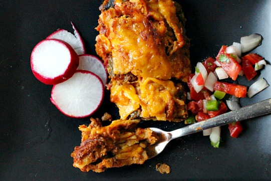 How to make ground beef authentic Mexican Enchiladas