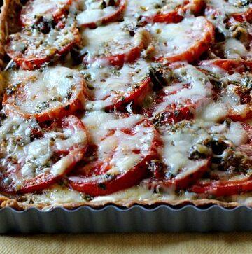 Annas Tomato Tart, Ina Garten tomato tart recipe