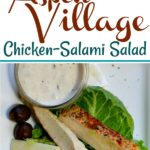 Easy Hearty Chicken Salami Salad, a recipe from Aspen Colorado