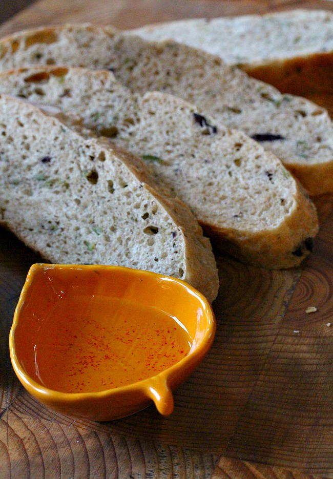 Homemade Olive Rosemary Bread. A beautiful homemade bread recipe.