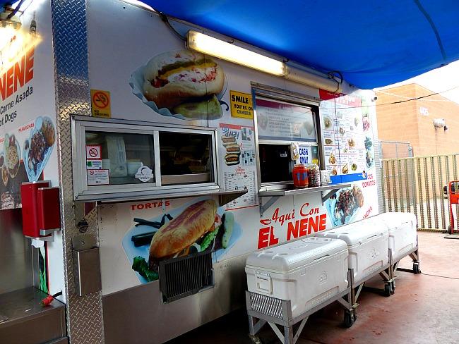 Taco Truck Aqui Con El Nene Tucson street tacos