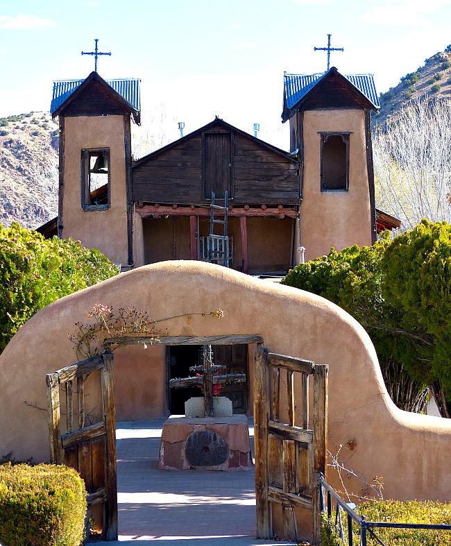 El Santuario de Chimayo famous church in Chimayo New Mexico