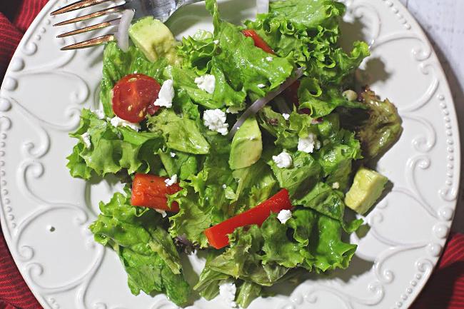 Tossed salad recipe
