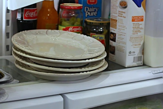Chilling salad plates to make the best tossed salad