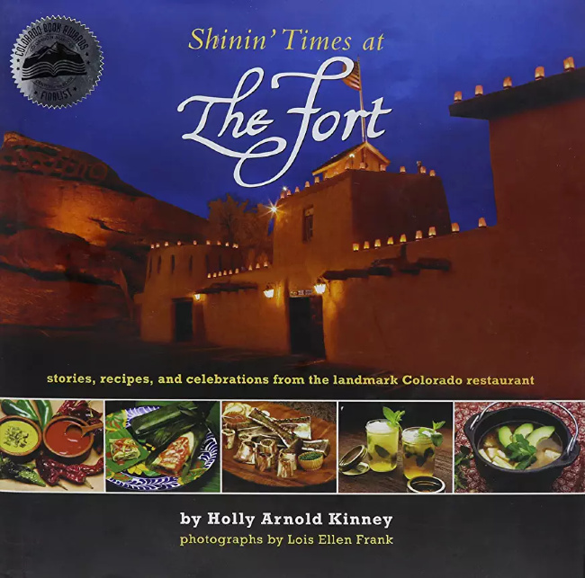 The Fort Cookbook Cover Shinin times at the Fort Restaurant