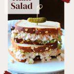 Easy left over ham salad sandwich recipe