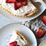 Strawberry Tart with Lemon Cream Cheese Filling