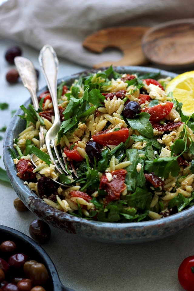 Esy Greek Orzo Salad
