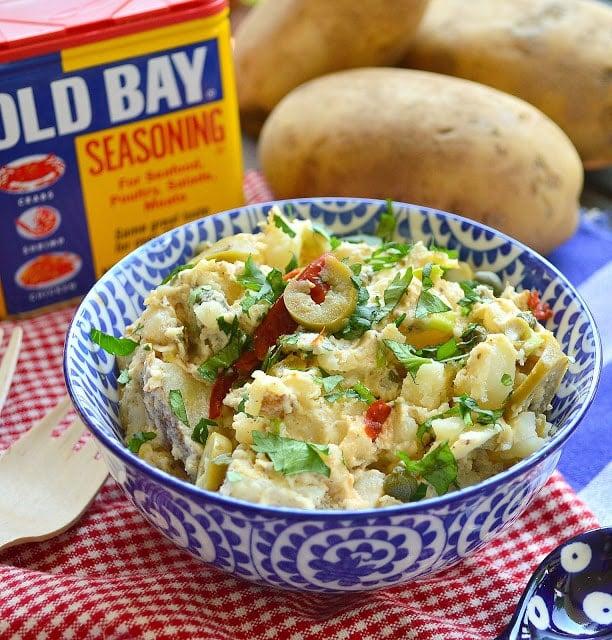 Old Bay Potato Salad Recipe using old bay seasoning
