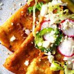 Street Style Folded Enchiladas
