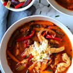 Chicken Fajita Soup Recipe with Chicken Breast