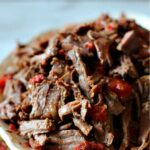 Shredded beef for tacos