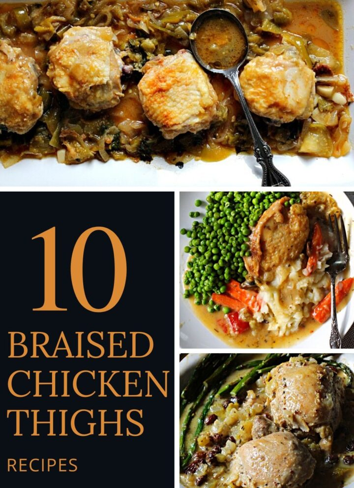 Lineup of 10 popular chicken thigh recipes