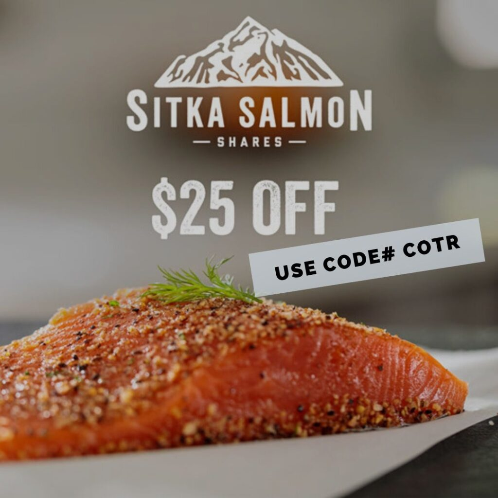 Sitka salmon shares discount code