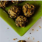 Easy orange chocolate truffles recipe with pistachios