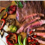 Grilled skirt steak fajitas marinade
