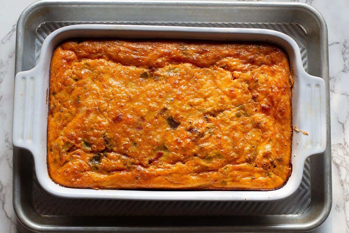 baked mexican breakfast casserole.