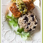 Mexican Salmon with Salsa Verde