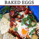 Baked eggs for breakfast