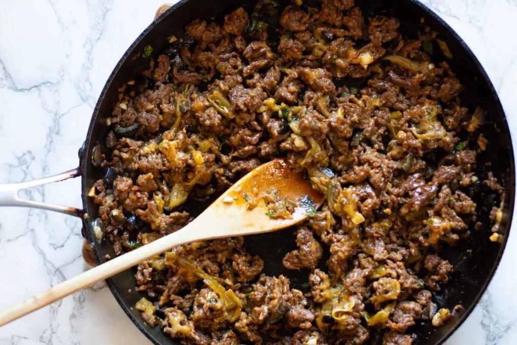 How to cook chorizo filling for empanadas