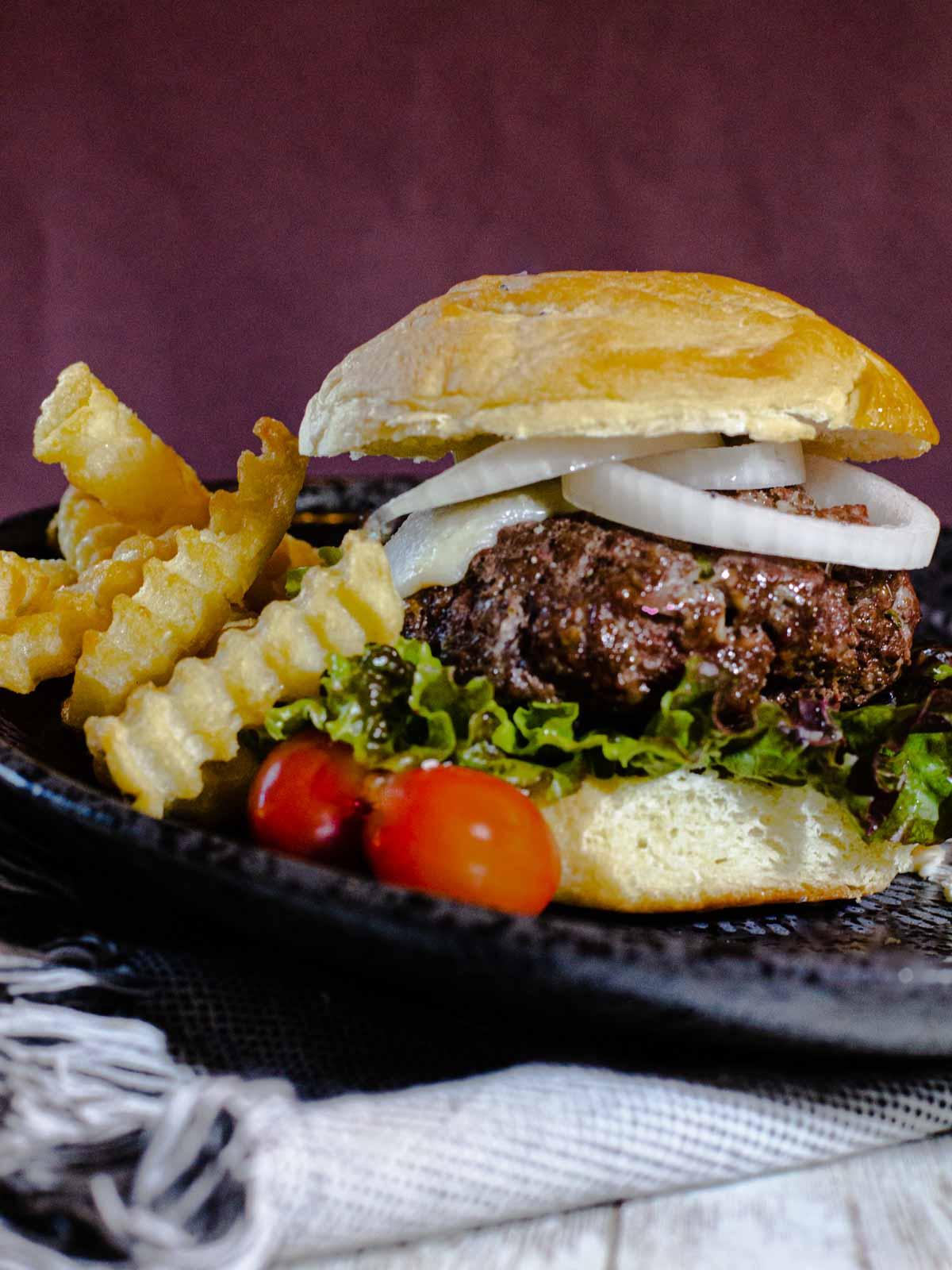 Silver Spur Ranch Blue Cheese Burger
