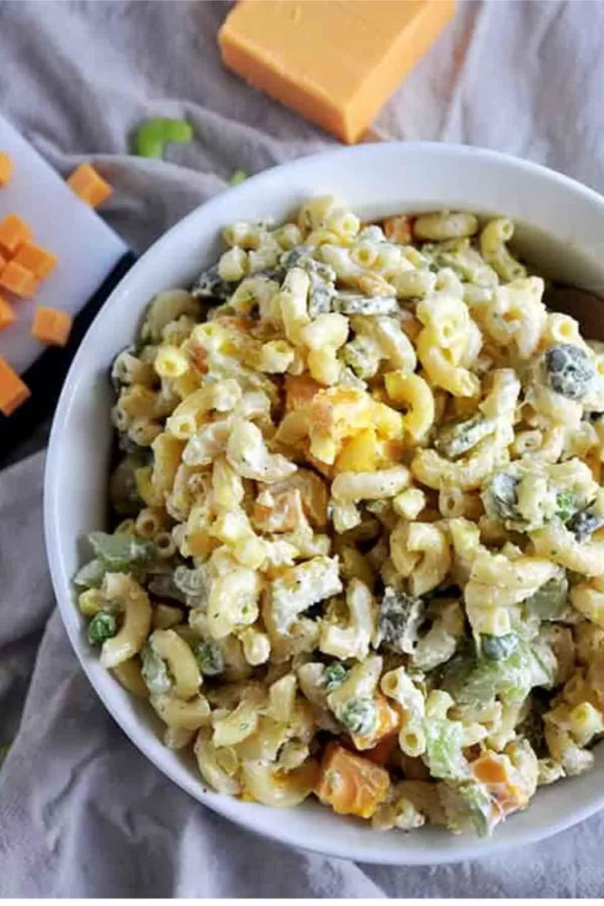 Rancharoni macaroni salad