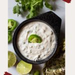 Jalapeno Aioli Recipe with cilantro and lime