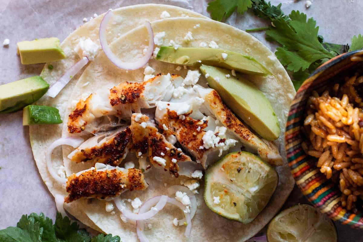 Sablefish Black Cod Fish Tacos