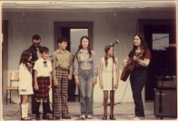 Mac Lean Family at Highland Village Day 1969