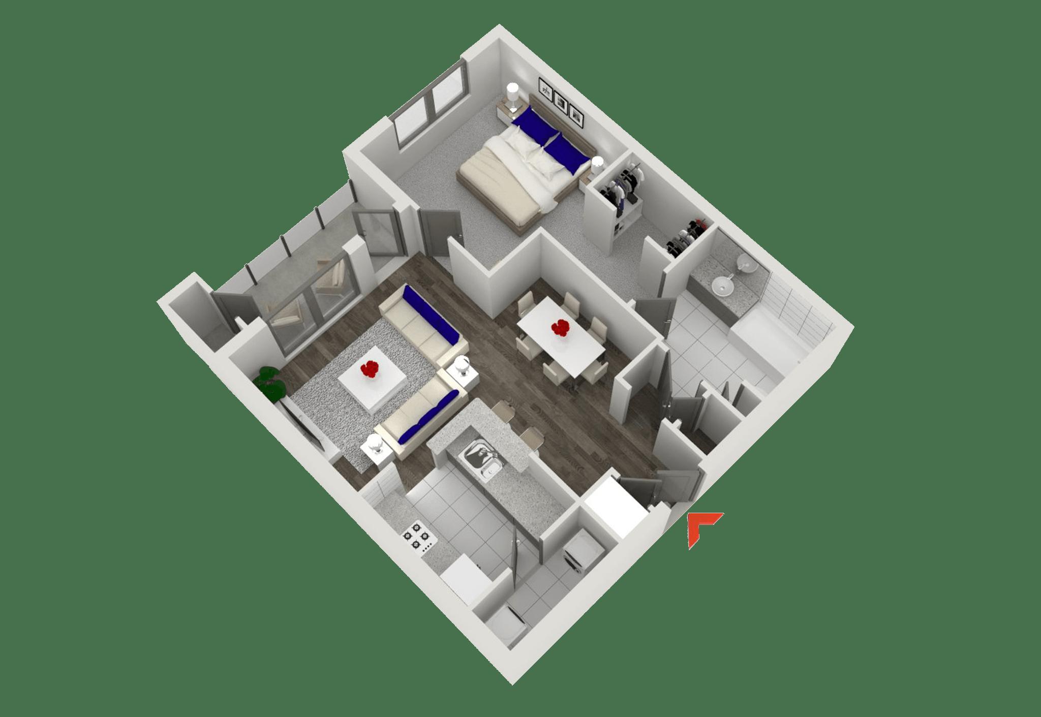 studio, 1 & 2 bedroom apartments in atlanta | highland walk